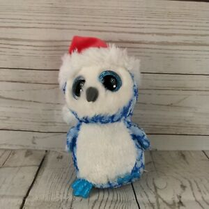 Ty Beanie Boos/Boo Icicles  Approx 5'' / 15cms blue colour collector plush