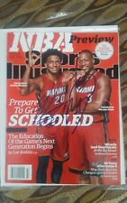 Dwyane Wade & Justice Winslow  Miami Heat 2015 Sports Illustrated Cover - signed