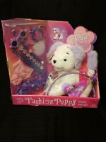 2001 BARBIE FASHION PUPPY DOG TALKING BARKS STUFFED ANIMAL TOY PLUSH MATTEL