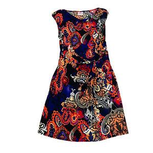 Leona Edmiston Size 12 Women's A-Line Dress Stretch
