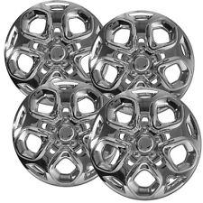 """4 PC Hubcaps Fits Ford Fusion 17"""" Chrome ABS Replacement Wheel Rim Cover"""