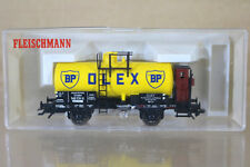 FLEISCHMANN 5421 RE NUMBERED DR BP OLEX DRESDEN KESSELWAGEN TANK WAGON BOXED ng
