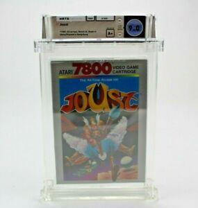 Joust - Atari 7800 Silver Box 1987 Graded Factory Sealed Notch Lid  WATA 9.0 A+