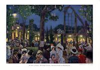 Abtei bei Treptow Insel der Jugend XL Kunstdruck 1912 Hans Baluschek Abteiinsel