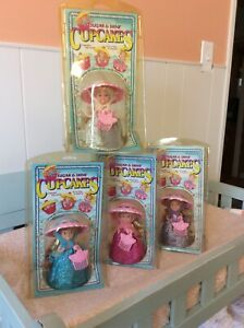 4 NEW Tonka Cupcakes Dolls