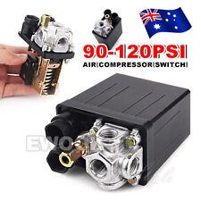New Pump Pressure 90-120PSI Air Compressor Switch Control Solid Valve Heavy Duty