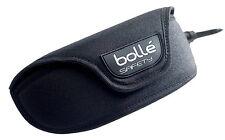 Bolle etuib Poliéster Negro Funda para Protegiendo Gafas / SPECTACLES / Gafas