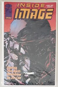 INSIDE IMAGE ISSUE #2 DEATHBLOW COVER IMAGE COMICS APRIL 1993