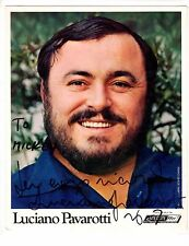 Luciano PAVAROTTI (Opera): Signed Photograph to Mickey ROONEY
