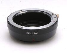 Converter Pentax PK K Lens For Nikon camera mount Adapter