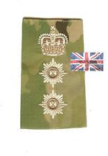 New Pair Multicam MTP Colonel Irish Guards RANK SLIDES