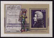 Germany 1991 Wolfgang Amadeus Mozart, Composer SG MS2433 MNH