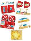 FISHER-PRICE #915 FARM BARN REPLACEMENT LITHOS Little People Play Family