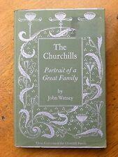 The Churchills by John Watney (Hardback, 1977) Portrait of a Great Family