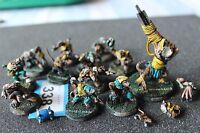 Games Workshop Bloodbowl Skaven Team Figures Blood Bowl Painted Converted Ogre