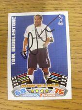 "2011/2012 AUTOGRAFO: Tottenham Hotspur-Huddlestone, Tom [firmato a mano ""TOPPS ma"