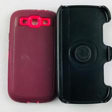 SAMSUNG Galaxy S3 Defender Shockproof Case With Holster Belt Clip