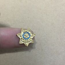 custom 1/6 Scale Police Sheriff Badge fit the walking dead Rick Grimes