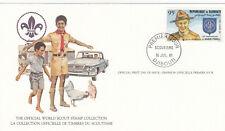 (14015) Djibouti FDC Card Scouts 1981