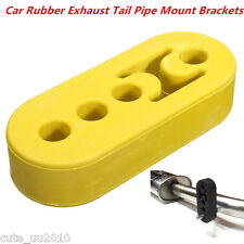 Universal Car Rubber Exhaust Tail Pipe Mount Bracket Hanger Insulator 12mm 4Hole