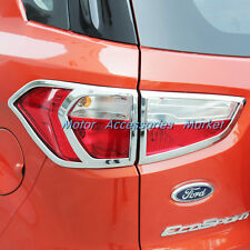 New Chrome Rear Light Taillight Cover Trim For Ford EcoSport 2013 2014 2015