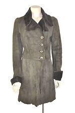 Knight by Nigel Preston Knight Brown Suede 100% Lambskin Coat, Jacket Size S