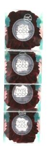 4 Count Invisibobble Sprunchie Red Wine Is Fine Comfortable Spiral Hair Ring