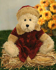 Uncle Beans Bears 'Nadia' Handmade with Jointed Legs Teddy Bear 42cms BRAND NEW