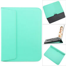 For MacBook Air 11 13 Pro 13 15 Retina Slim Leather Laptop Sleeve Bag Case Cover