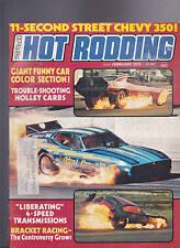 Popular Hot Rodding Magazine Funny Cars Bracket Racing February 1975