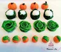 Edible vegetables veg gardening Birthday Farm Cake Topper Icing Peter Rabbit
