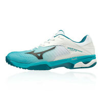 Mizuno Mens Wave Exceed Tour 3 All Court Tennis Shoes Blue White Sports