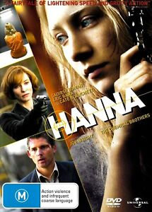 Hanna - Rare DVD Aus Stock New Region 4