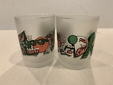 1990 ©️Metro Shot Glass Florida Art Print Set Of 2