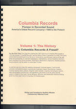 Wheeler, Geoffrey: Columbia Records ; Pioneer in Recorded Sound and America's