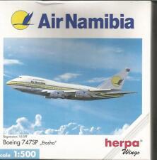 Herpa Wings: Air Namibia 747SP 1:500 scale.Art-Nr. 502573