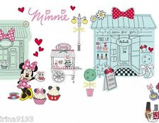 Disney Minnie Mouse 100 Wall Stickers Glow In Dark Home Room Decor