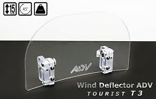 Wind Screen Deflector for motorcycle motorbike windshield MEDIUM TOURIST T3