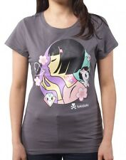 BUBBLE BABE Tee TKDK - L Large  sexy girl unicorn TOKIDOKI Women's Adult Tshirt