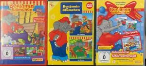 Benjamin Blümchen 3x DVD Sammlung - Schöne Sammlung für Kinder