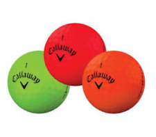 24 Golf Balls- Callaway Superhot Matte Mix - AAAA