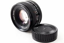 CONTAX Carl Zeiss Planar 50mm f1.7 T* AEJ [Exc++] Free Shipping from Japan[1184]