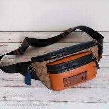 NWT Coach 89906 Terrain Belt Fanny Crossbody Bag in Colorblock Signature Canvas