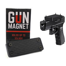 Gun Magnet 35 lbs pound Fast Draw Magnetic Mount Firearm Rifle Shotgun Handgun