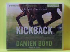 Kickback 3 by Damien Boyd (2015, CD, Unabridged)