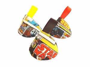 Star Wars Comic Pee Pee Teepee x3, Wee Stop Cone, Boy Baby Shower Gift Superhero