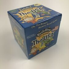 Brain Box All Around The Usa Game The Green Board Game Company Sealed/ New