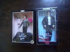 Lo of 2 40th Ann Ken 1999 &  40th Anniversary OFFICIAL 1st SHIPMENT Barbie 1999