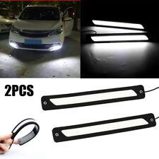 Waterproof DRL LED Car Daytime Running Lights Driving Bulbs Daylight Fog Light