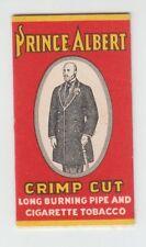 [B68638] 1900's PAPER WRAPPER FOLDER for PRINCE ALBERT SMOKING TOBACCO